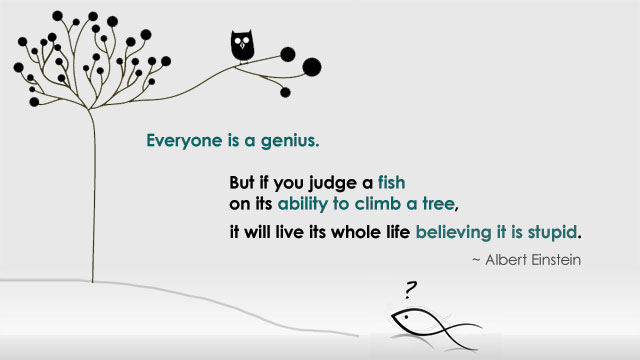 Everyone is a genius!