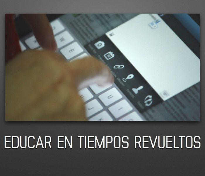«Educar en tiempos revueltos»: presentación en las jornadas sobre tablets, Consellería de Educación de Valencia