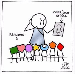 curriculum vs niños