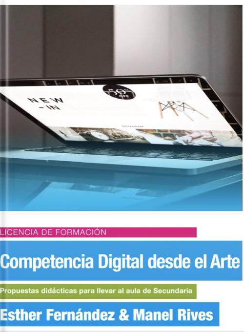 Competencia digital desde el arte, carátula del libro